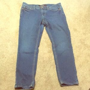 3/$15 Girls Skinny jeans jordache 12 1/2 plus